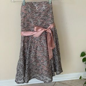 NWOT Delia's Strapless Mini Dress sz Juniors 11
